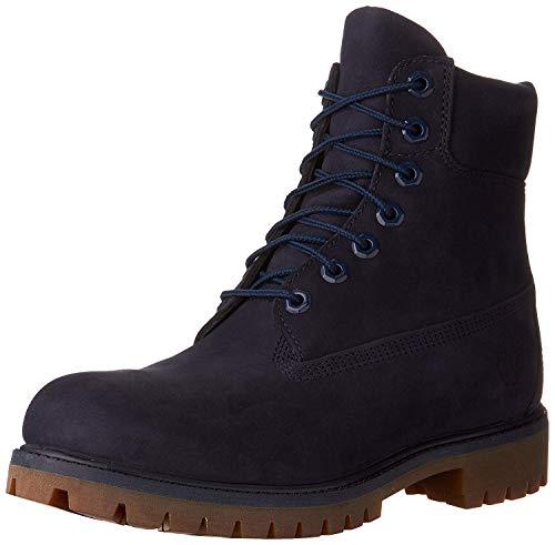 Timberland Timberland Mens 6 Inch Premium Waterproof Boots, Navy, 8.5 D(M) US