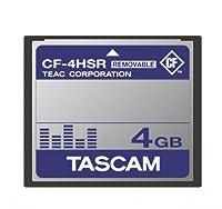 TEAC CFカード リムーバブルタイプ 4GB CF-4HSR