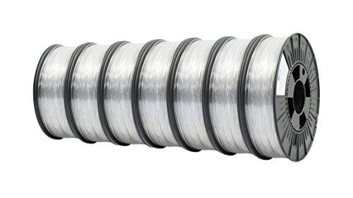 ICE FILAMENTS ICE7VALP106 PC PRO Filament 2,85 mm, 0,50 kg, Cunning Clear (Lot de 7)
