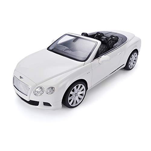 SPIRE-TECH RC Bentley CONTINENTAL GT Cabrio Cabrio Cabrio ferngesteuertes RC Auto 1:12 weiß