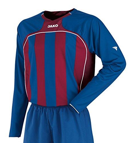 JAKO Herren Trikot Inter LA, Bleu/Bordeaux, XXL