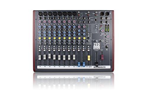 Allen & Heath ZED60-14FX Compact Live and Studio Mixer with Digital FX and USB Port