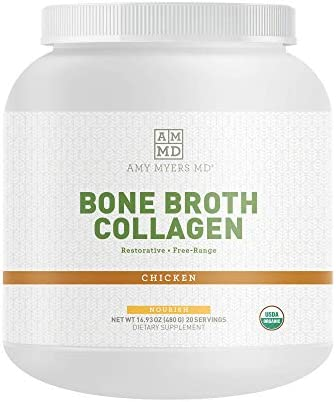 Dr Amy Myers Bone Broth Collagen Powder Type II Collagen Protein Powder from Organic Chicken product image