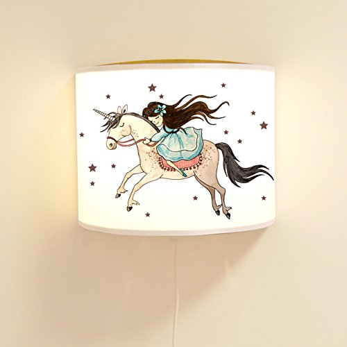 ilka parey wandtattoo-welt Wandtattoo-welt® Ls82 Lampe Murale pour Enfant