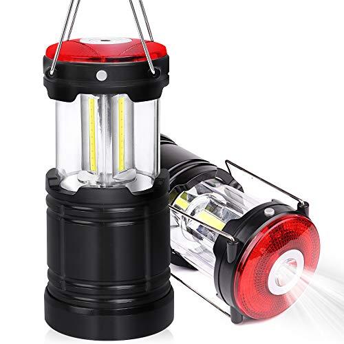 Vsadey LEDランタン 防災対策 キャンプランタン 折り畳み式 携帯型 テントライト 懐中電灯 防水仕様 登山 夜釣り ハイキング 電池式 高輝度 アウトドア適用