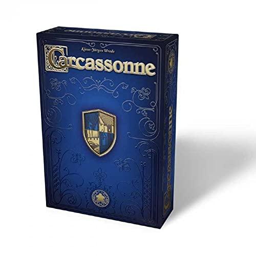 Giochi Uniti - Gioco da Tavolo Carcassonne 20 Anniversario, Edizione Italiana