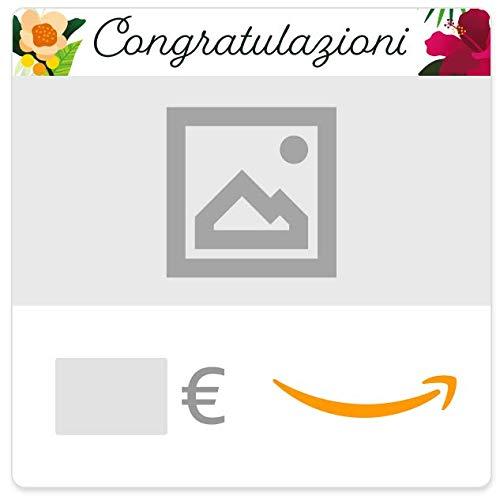 Buono Regalo Amazon.it - Digitale - Personalizzato - Floreale