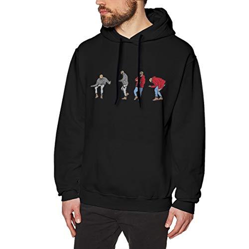 Uoliicoze Herren lustige Hotline Bling Drake Ansichten Design Pullover Sweatshirt M