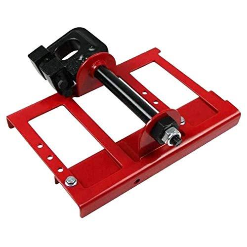 ALEOHALTER Guía de corte de madera para motosierras, sierra de acero para motosierra, amoladora de motosierra, carril de guía de madera para constructores de carpintería