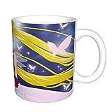 Taza de café divertida con diseño de Sailor Moon Boss Coworker Gifts para oficina, regalo de café, taza mágica, 325 ml