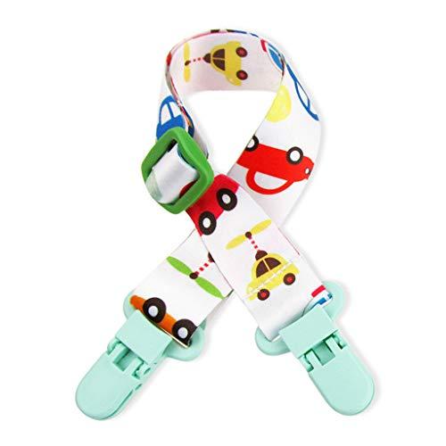 NA. Nangjiang - Pinzas de lactancia para bebés y niños, multifunción, doble cabeza, ajustable, toallitas de lactancia materna