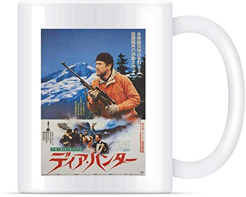 N\A Tasses à café en céramique japonaises The Deer Hunter Classics 11 oz