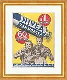 Kunstdruck Nivea Zahnpasta Tube Zahnhygiene Familie Reklame
