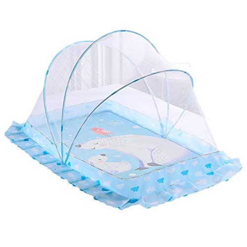 YLX Kindermuggennet voor ledikanten, grote bedden banken beste gaas, baby muggen-proof insectenrooster, opvouwbaar en draagbaar