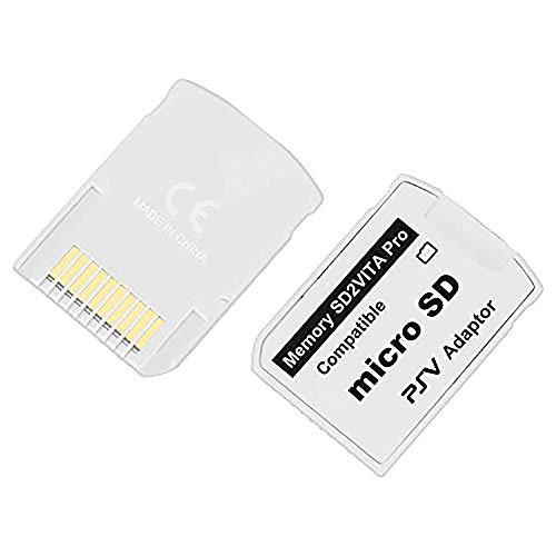 Phinktech PlayStation Vita メモリーカード変換アダプター PSV Ver.5.0 SD2VITA ゲームカード型 microSDアダプター microSDカードをVita用メモリーカードに変換可能 1個セット