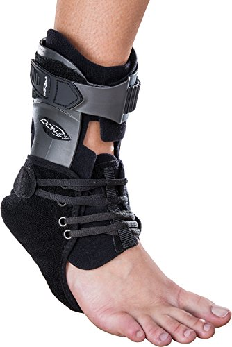 DonJoy Velocity ES Extra Support Ankle Brace: Standard Calf Right Foot Medium
