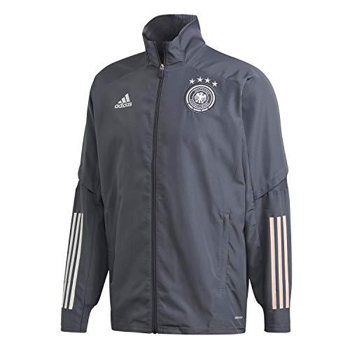 adidas Herren Jacke DFB PRE JKT, Onix, XL, FI0739