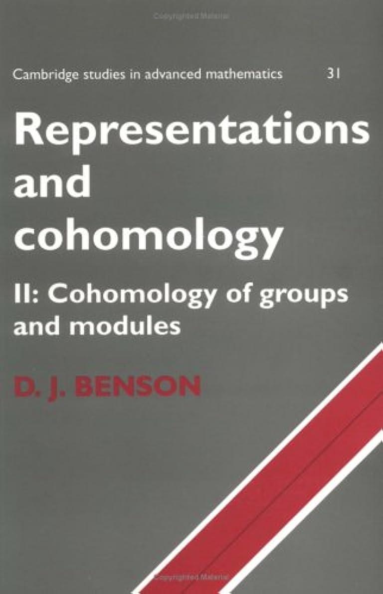 フェローシップ対角線結果Representations and Cohomology v2 (Cambridge Studies in Advanced Mathematics)