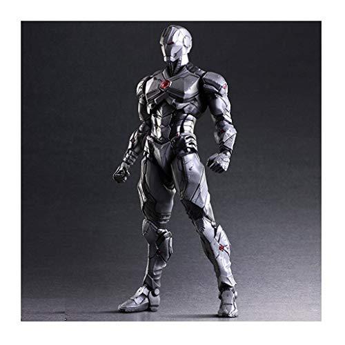 XAGB Modelo de juguete Artesanías Anime Boutique Iron Man Gris Game Anime Toy Componente Model