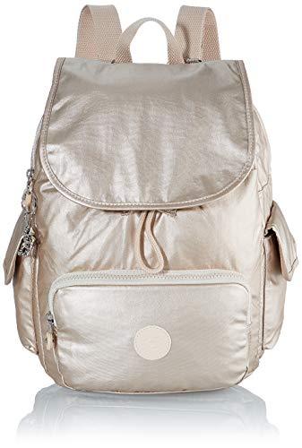 Kipling Damen City Pack S Rucksack Gold (Cloud Metal)