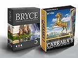 Bryce 5 englisch / Carrara Studio 3 Bundle WIN/MAC -