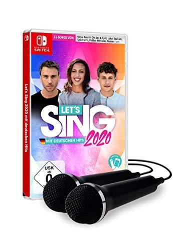 Let\'s Sing 2020 mit deutschen Hits [+ 2 Mics] [Nintendo Switch]