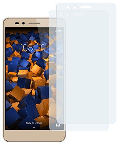 mumbi Schutzfolie kompatibel mit Huawei Honor 5X Folie klar, Displayschutzfolie (2X)