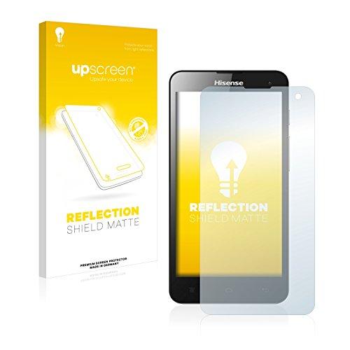 upscreen Entspiegelungs-Schutzfolie kompatibel mit Hisense HS-U971AE – Anti-Reflex Bildschirmschutz-Folie Matt