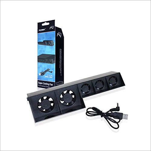 Dobe PS4 System Cooling Fan Black for Sony PlayStation 4 Console Original Model (Not for PS4 Slim or PS4 Pro)