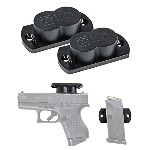 Review Of TLO Outdoors Gun Magnet Magnetic Holster Mount - GunMag for Vehicle & Home Concealment for...
