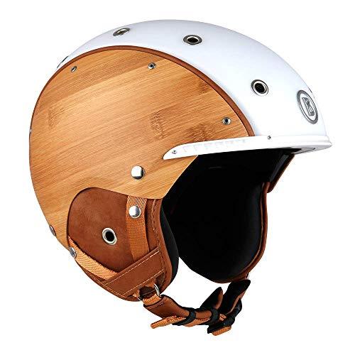 Bogner Ski-Helm Bamboo | Weiß | Ski & Snowboard | Hochwertige Qualität