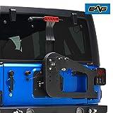 EAG Tire Carrier on Door Hinge W/Adjustable Tire Mount...