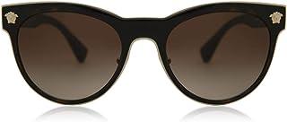 Versace Women's VE2198 Dark Havana/Brown Gradient One Size