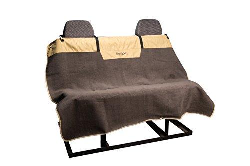 Bergan Bench Seat Cover, Premium Microfiber, Morel & Sand