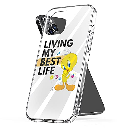 Phone Case Cover Compatible with iPhone Tweetie Se 2020 Pie Pro Max Living Plus My Xr Best X Life 12 6 7 8 Xs 11 Mini Waterproof Scratch Accessories