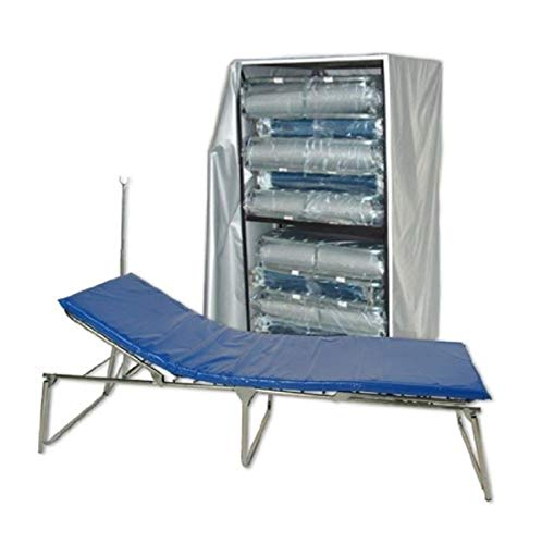 Blantex Adjustable Beds (10) with Cart