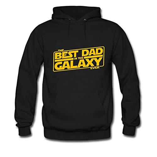 Sudadera con capucha para hombre The Best Dad in the Galaxy Ever