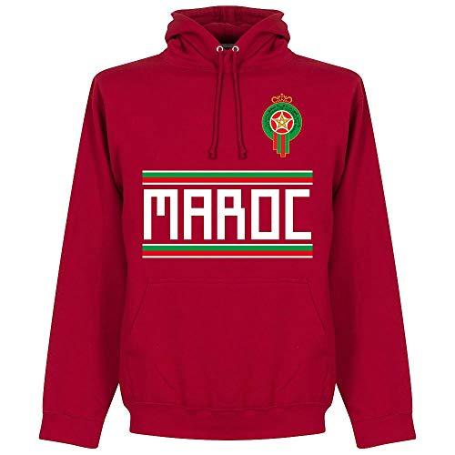 Retake Marokko Team Kapuzenpullover - rot - XL