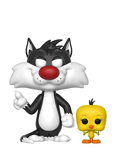 Funko Pop! Animation – Looney Tunes – Sylvester & Tweety #309 Figura de vinilo de 10 cm –...