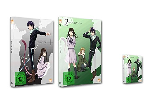 Noragami - Bundle - Episode 01-12 [2 DVDs]