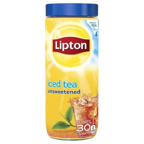 Lipton, Unsweetened Iced Tea Mix (Pack of 2)