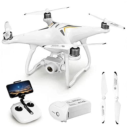 Drone con videocamera 4K HD Live Video Camera Drone, Controllo del Movimento, Volo in Cerchio, Rotazione Veloce, Mantenimento dell'altitudine, modalità Senza Testa, Adatto a Bambini, Adulti e princip