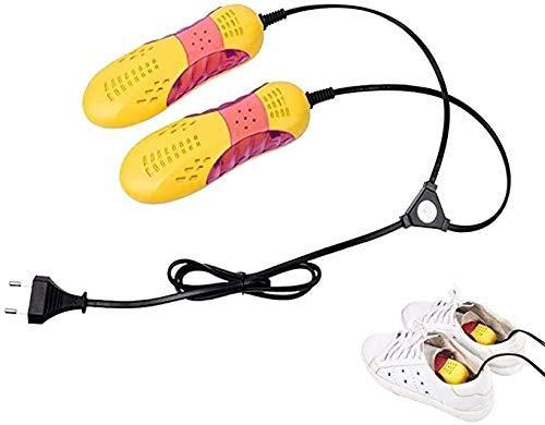 HSY SHOP Schuhstiefeltrockner, montierte tragbare Schuhtrockner Elektrische Heißluftwärmerheizung, niedlicher Schuhtrockner (Color : Black, Size : JP)