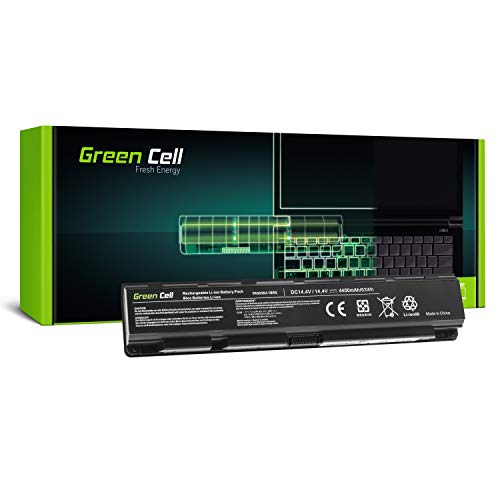 GC® Laptop Akku für Toshiba Qosmio X70-A-12U X70-A-12W X70-A-12X X70-A-135 X70-A-136 (4400mAh 14.4V Schwarz)