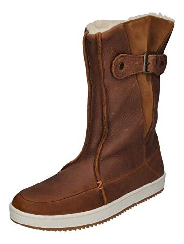 Hub Footwear Damenschuhe - Booties Snow 2.0 - Cognac, Größe:39 EU