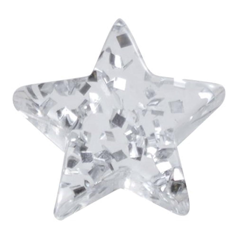 代数金曜日石化するリトルプリティー ネイルアートパーツ 星ラメ 5個