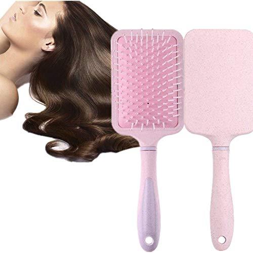 Peigne Massage du cuir chevelu Peigne Masseur de tête Brosse À cheveux Style En forme de lèvres Peignes Cheveux Peigne Spécial Peigne pink