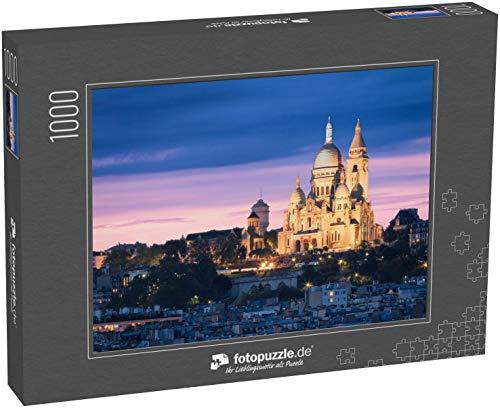 fotopuzzle.de Puzzle 1000 Teile Die Basilika des Heiligen Herzens (Sacre Cœur Basilika). Montmartre, Paris, Frankreich (1000, 200 oder 2000 Teile)
