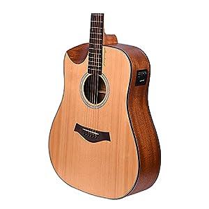 "Kadence Slowhand Series Demicut 41"" Semi Acoustic Guitar 8"