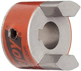Lovejoy 10426 Size L070 Standard Jaw Coupling Hub, Sintered Iron, Inch, 0.75